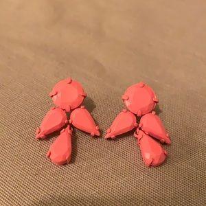 Peachy pink Jcrew drops